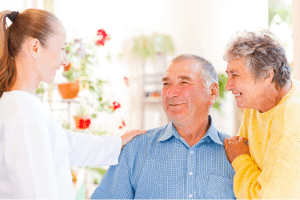 individual receiving in-home care