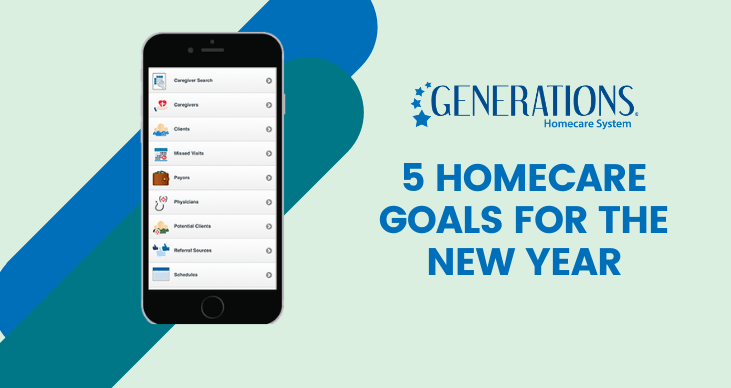 5 Homecare Goals for the New Year