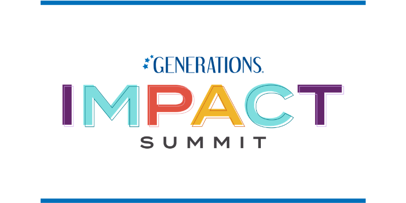 Generations Impact Summit logo