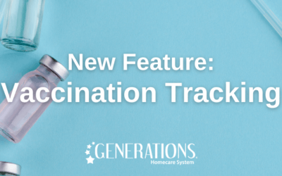 New Feature: COVID-19 Vaccination Tracking