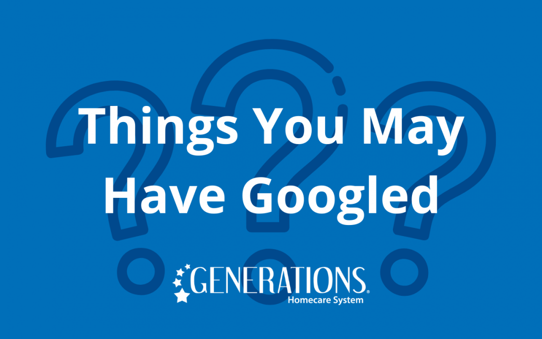 Things You May Have Googled This Month