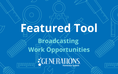 Featured Tool – Broadcasting Available Work
